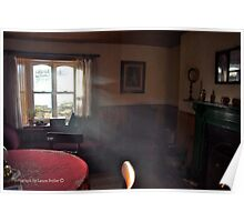 Haze of Afternoon - Irish Country Interior, County Down Poster