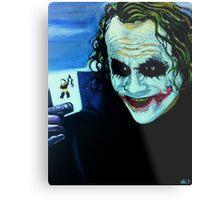 Heath Ledger as The Joker Metal Print