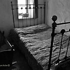Shadows in Time - Cottage Bedroom Interior, County Down by Laura Butler