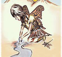 Kohane 小羽  - Healing Waters Fairy by TwilledWaves