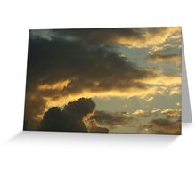Archways Etched with Sun Greeting Card