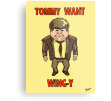 Tommy Want Wing-y Metal Print