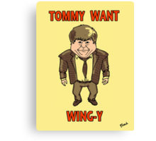 Tommy Want Wing-y Canvas Print