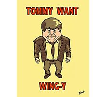 Tommy Want Wing-y Photographic Print