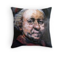 Study of Rembrandt Throw Pillow