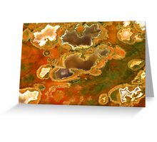 Australian Rainforest Jasper Greeting Card