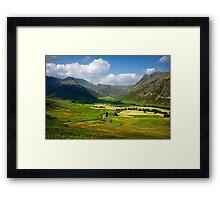 The Langdales Framed Print