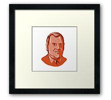 Chris Christie Governor New Jersey Framed Print