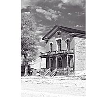 Historic Hotel Meade - Black and White Photographic Print