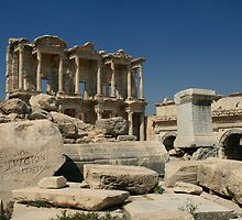 Library of Celsus at Ephesus, Izmir, Turkey by sccaldwell