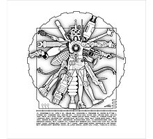 Vitruvian Machine - Print Photographic Print