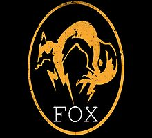 Metal Gear Solid - FOX Logo by Shoro by Shoro