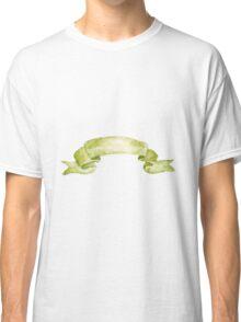 Watercolor ribbon Classic T-Shirt