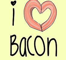 I love bacon by KaylaPhan