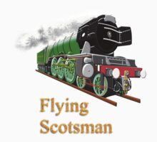 The Flying Scotsman with Blinkers travel mug, etc. design Kids Tee