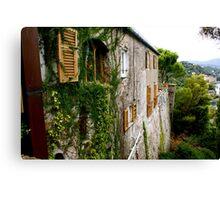 Portofino Details Canvas Print