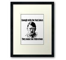 Führerious Framed Print