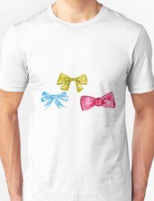 watercolor bow Unisex T-Shirt