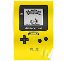 Game Boy Color with Pokemon by Shoro Poster