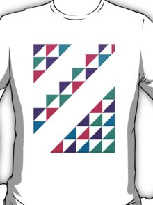 colorful triangle T-Shirt