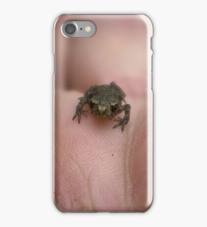 Frog with Attitude iPhone Case/Skin
