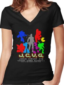 J.C.V.G. Shirt 2010 Women's Fitted V-Neck T-Shirt