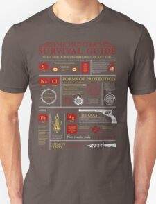 The Hunters Survival Guide Unisex T-Shirt