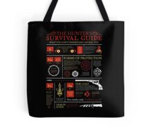 The Hunters Survival Guide Tote Bag