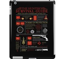 The Hunters Survival Guide iPad Case/Skin