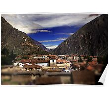 Ollantaytambo, Perú Poster