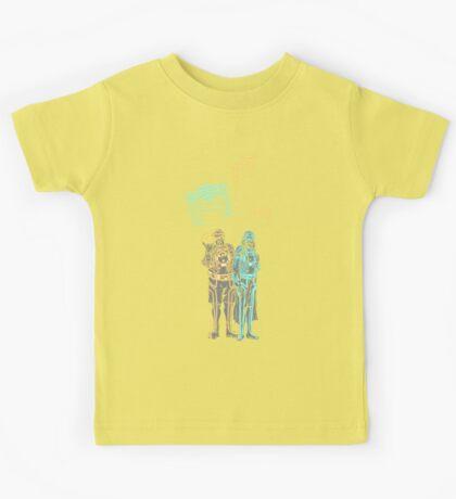 Tronbowski - Jeff Bridges parody shirt Kids Tee