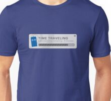 Time Traveling Pop Up Window Unisex T-Shirt