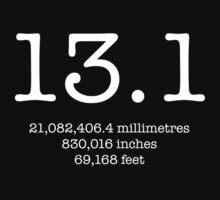 13.1 Half Marathon by BonniePortraits