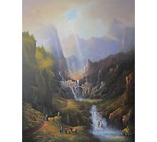 Rivendell,The Last Homely House. Photographic Print