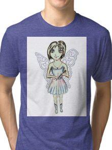 Plurissa the Posh Bob Fairy Tri-blend T-Shirt