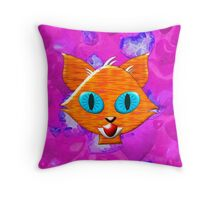 A Ginger Tom - pillow & tote, etc. design Throw Pillow