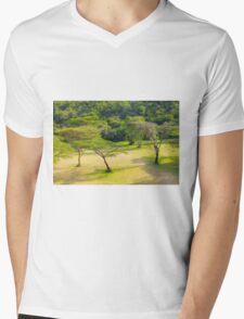 Masai Lodge Park, KENYA Mens V-Neck T-Shirt