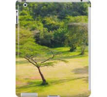 Masai Lodge Park, KENYA iPad Case/Skin