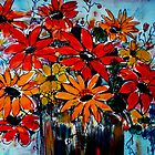 Meta's flowers 2 by Angela Gannicott