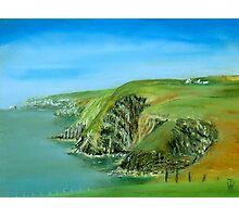 Cliffs Photographic Print