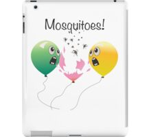 Mosquitoes iPad Case/Skin