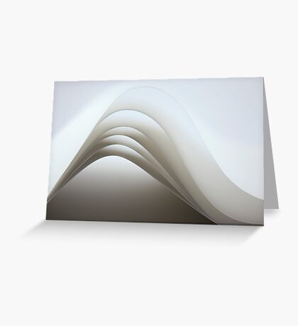 Paper lines - paper folds Greeting Card