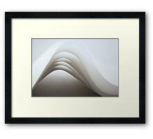 Paper lines - Canon EOS 5D Mk II Framed Print