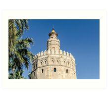 Sevilla - Torre del Oro Art Print