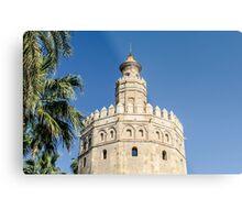Sevilla - Torre del Oro Metal Print