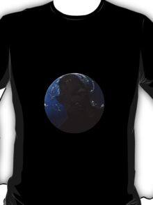 The Masters Shadow falls over the earth T-Shirt