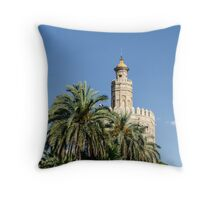 Seville - Torre del Oro  Throw Pillow