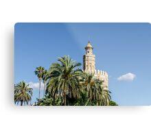 Seville - Torre del Oro  Metal Print