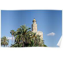 Seville - Torre del Oro  Poster