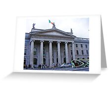 DUBLIN General Post Office Greeting Card